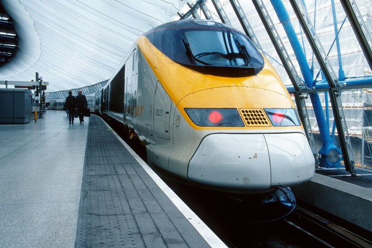 Travelling by Eurostar compared to flying
