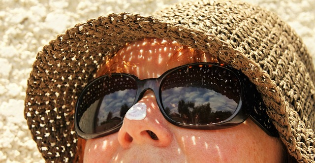 Protecting your skin from the sun on holiday